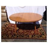 Conant Ball Mid-Century retractable dining able