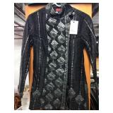 Mid Neck Hand Quilted 100% Silk Jacket