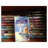 VHS Tapes - Movies for Children (Assorted Lot)