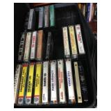 Cassette Tapes & Case Holder!