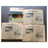 set of Norther Virginia Sun newspapers