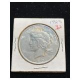 1923 United States Silver Peace Dollar Coin