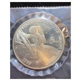 1989 First Men On The Moon Coin