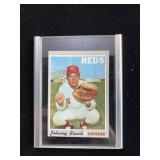 1968 Johnny Bench Reds Catcher Baseball Card