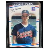 1988 Fleer Tom Glavine Pitcher Card