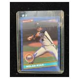 1986 Nolan Ryan Astros Baseball Card
