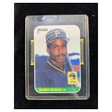 1987 Barry Bonds Pirates Baseball Card