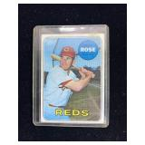 1969 Pete Rose Reds Outfielder Baseball Card