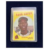 1959 Topps Hank Aaron Baseball Card