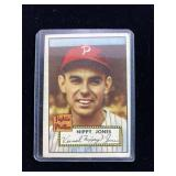 1952 Topps Nippy Jones Baseball Card