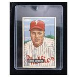 1951 Bowman Richie Ashburn Baseball Card