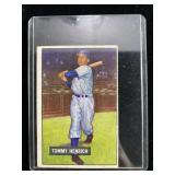 1951 Bowman Tommy Henrich Baseball Card