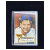 1952 Topps Willard Ramsdell Baseball Card
