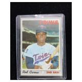 1970 Topps Rod Carew Baseball Card
