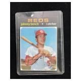1971 Johnny Bench Reds Baseball Card