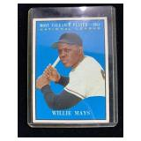 1954 Willie Mays MVP Baseball Card