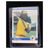 1984 Fleer Tony Gwynn Baseball Card