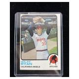 1973 TOPPS NOLAN RYAN BASEBALL CARD