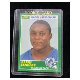 1989 Barry Sanders Football Card