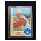 1968 Topps Pete Rose Baseball Card