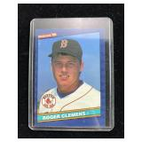 1986 Donruss Roger Clemens Baseball Card
