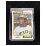 Dave Parker Pittsburgh Pirates baseball card