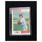 Mike Schmidt Phillies Baseball Card