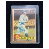 Babe Ruth Special Baseball Card