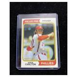 1974 Topps Steve Carlton Phillies Baseball Card