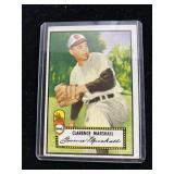 1960s Clarence Marshall Baseball Card