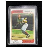 1974 Topps Pete Rose Baseball Card