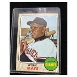 1970s Willie Mays Baseball Card