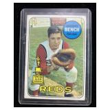 1968 Johnny Bench Reds Baseball Card