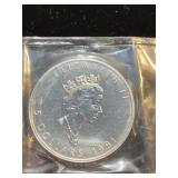 Canadian 1 OZ Silver Queen Elizabeth coin