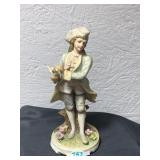 "LEFTON china hand painted ""Norman? figurine"
