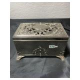 Vintage jewelry/ music box