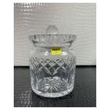 Waterford Crystal Lafford Biscuit Barrel Cookie Ja