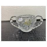 Crystal cup w/star designs