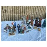 Christmas figurines perfect for holidays