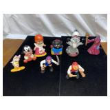 Assortment of Disney toys & pirate toy