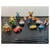 Lots of collectible Disney wind up toys