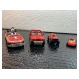 Racing toy truck & car