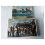 Vintage Puzzle Frontier Days Crossing the River