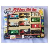 Turbo Star 10 Piece Gift Set Die Cast Metal Cars