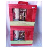 New in Box Christmas STOCKING craft kit