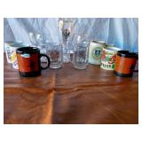 Lot of Military Mugs, International Mugs, and O