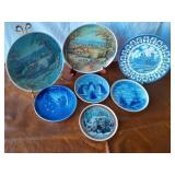 Lot of Collectible Plates