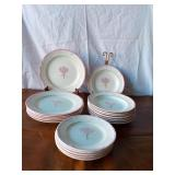 Set of Plates, Bowls, and Bread Plates