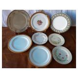 Lot of Assorted Dinner Plates and Bread Plates
