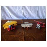Lot of Collectible airplanes